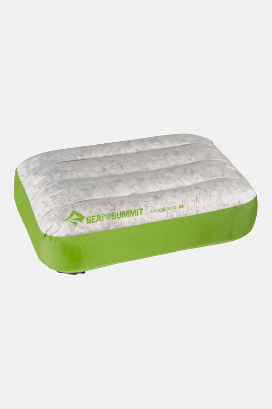 Sea To Summit Aeros Down Pillow Regular Kussen Groen/Donkergroen
