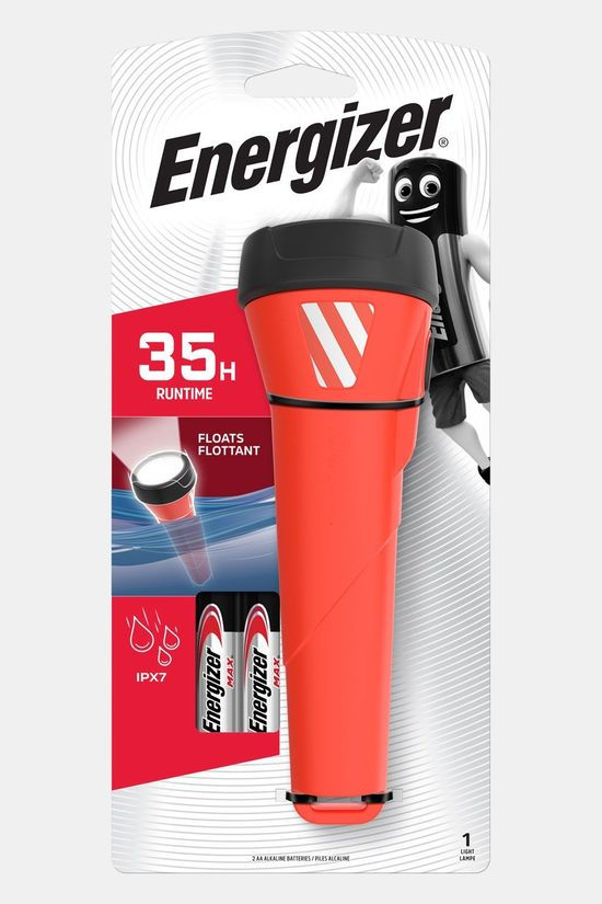 Energizer Zaklamp Waterproof LED 2AA Rood
