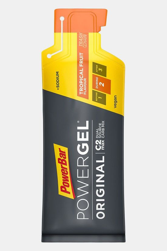PowerBar Tropical Fruit PowerGel Geen Kleur