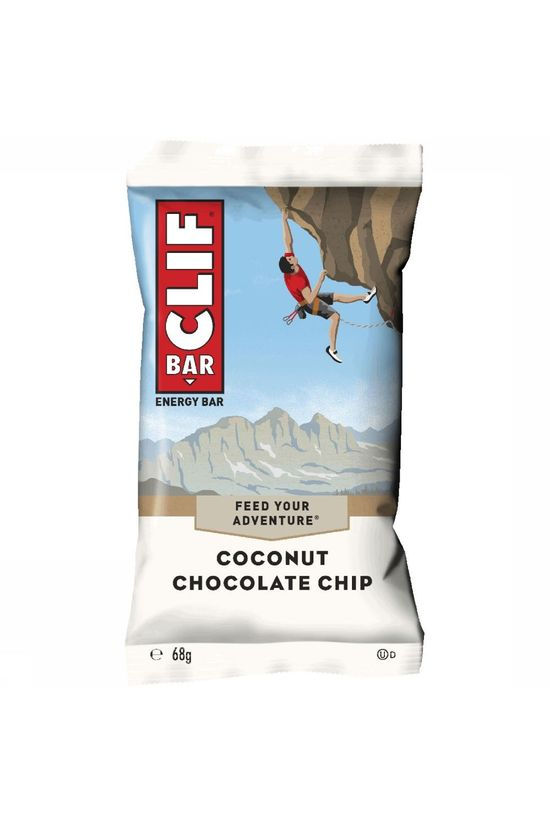 Clif Bar Coconut Chocolate Chip Energiereep Geen kleur
