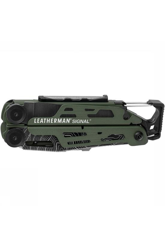 Leatherman Limited Edition Signal Multitool Donkergroen/Zwart