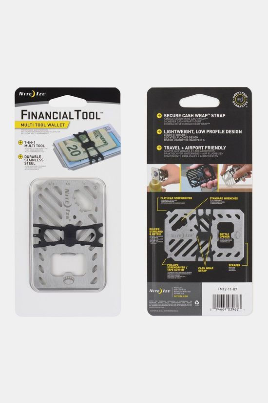 Nite Ize Financial Tool Multitool Zilver