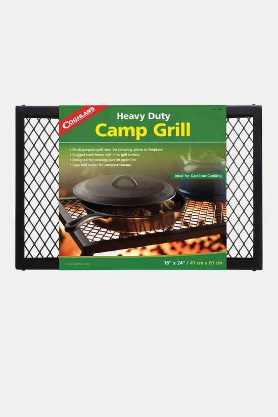 Coghlan's Heavy Duty Camp Grill Zwart