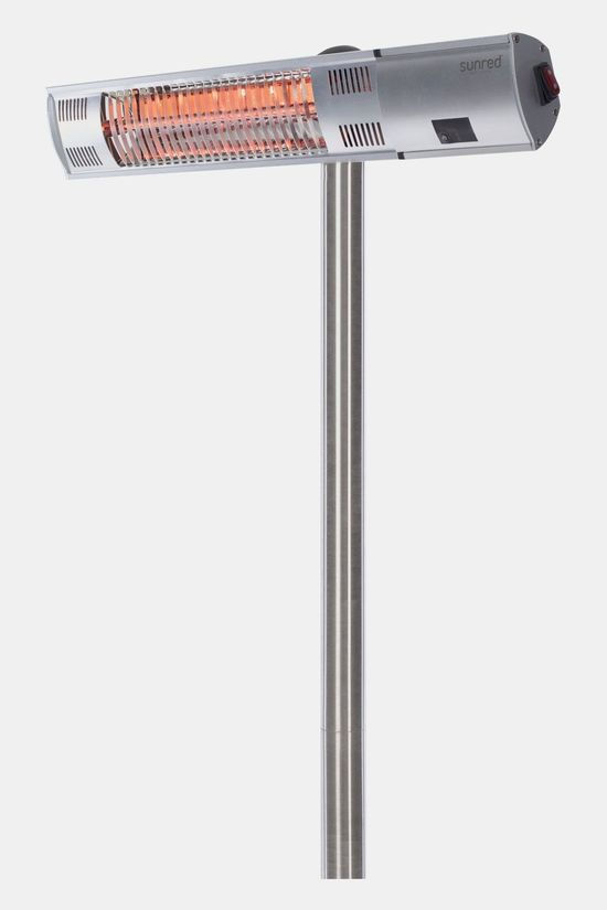 Sunred Heater Royal Diamond Silver Standing 2000 Zilver