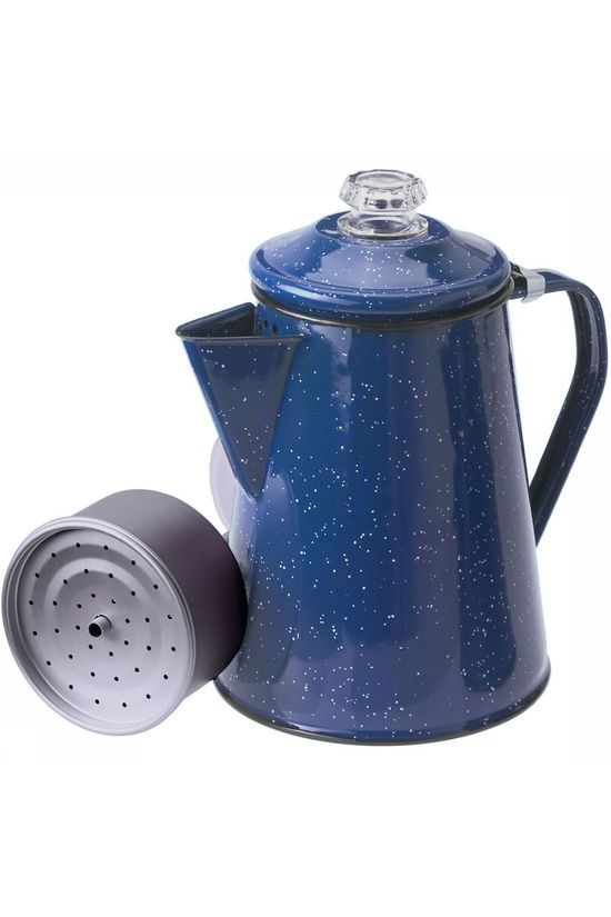 GSI Outdoors Pioneer 8 Cup Percolator Zwart/Blauw