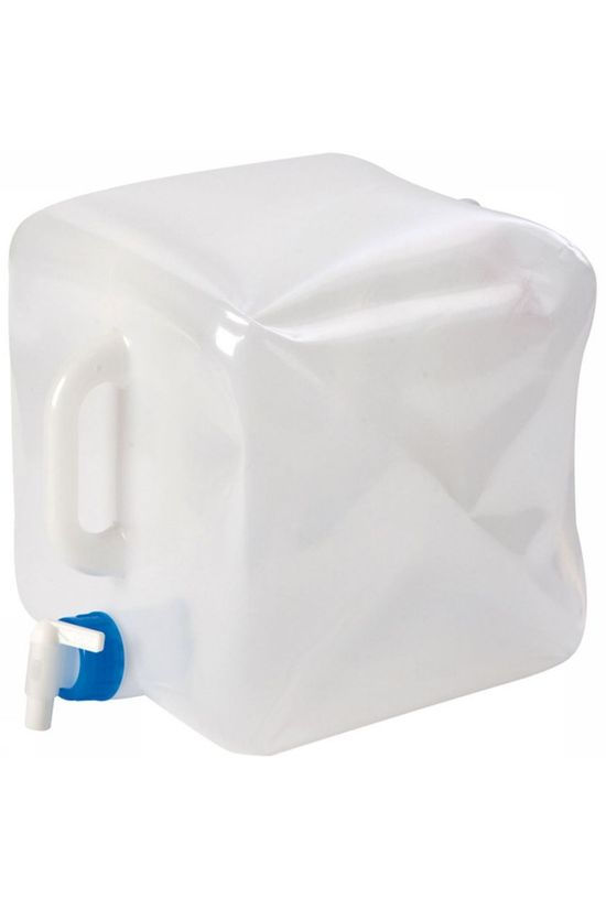 Bo-Camp Opvouwbare 15L Jerrycan Wit