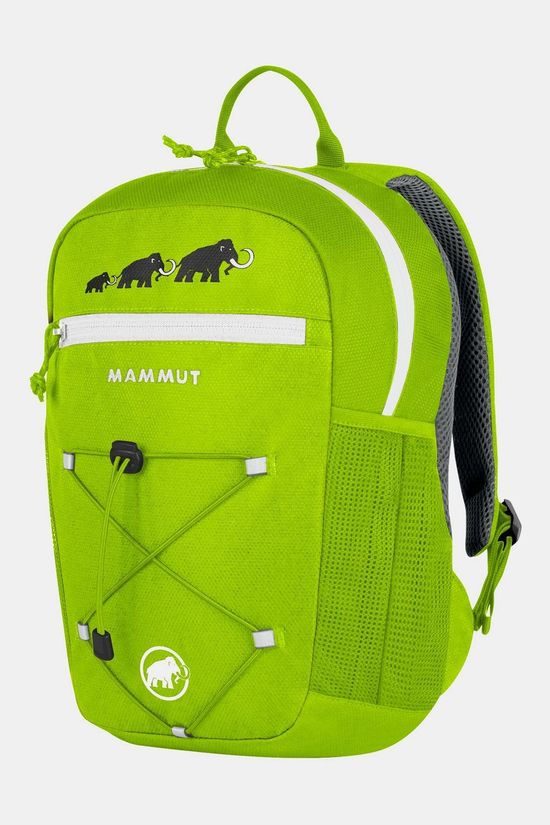 Mammut First Zip 16L Rugzak Junior Limoengroen