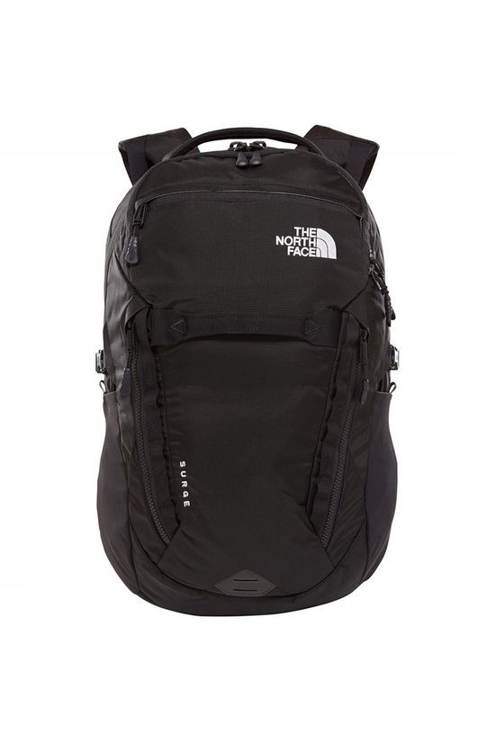 The North Face Surge Rugzak Zwart