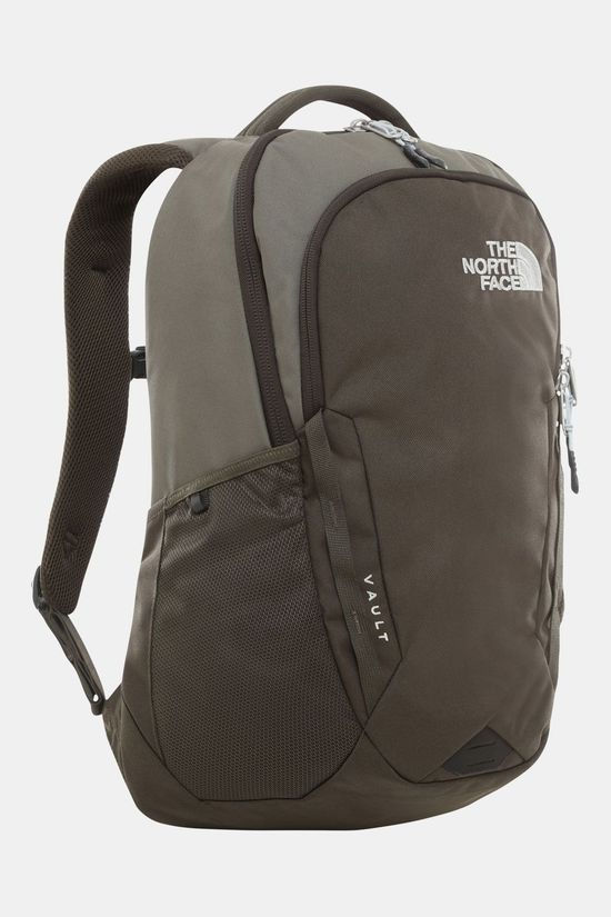 The North Face Vault  Rugzak Taupe/Donkergroen