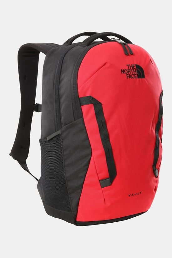 The North Face Vault Rugzak Lichtrood/Zwart