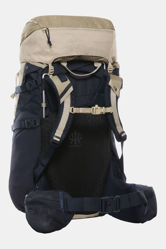 The North Face Terra 55L Rugzak Dames Donkerblauw/Beige