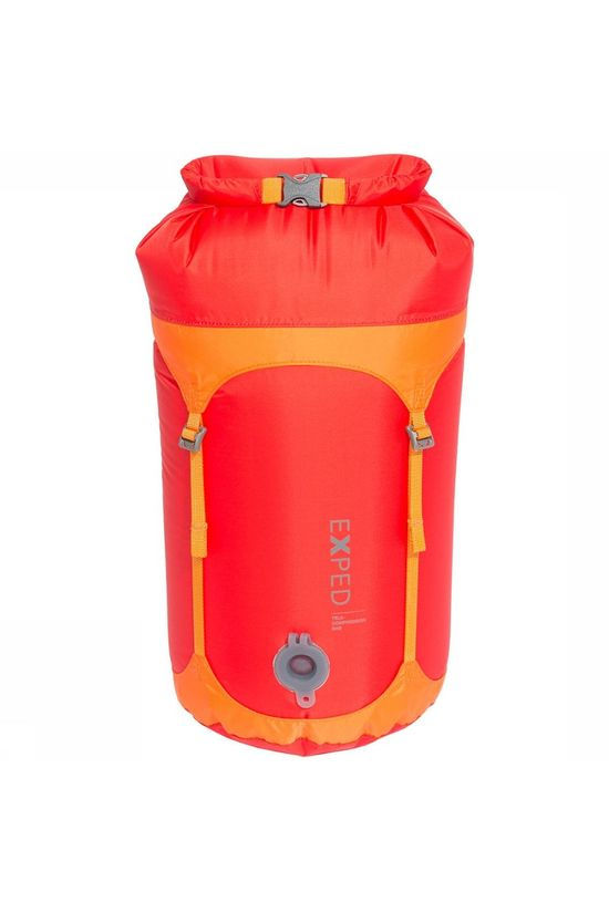 Exped Telecompression Dry Sack Rood