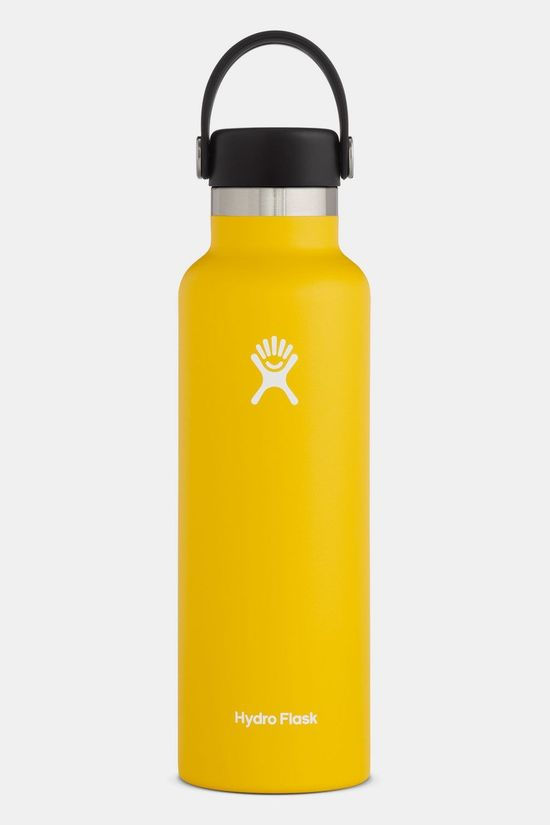 Hydro Flask Standard Mouth 0,6L Drinkfles Middengeel