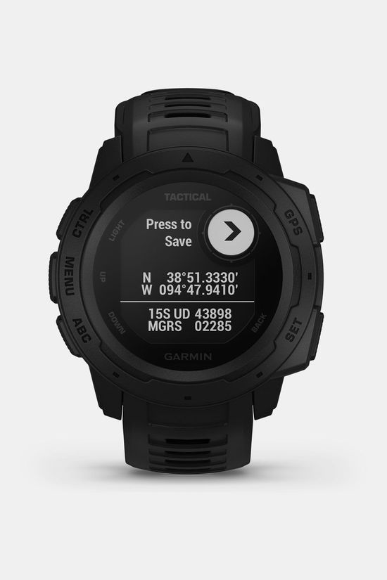 Garmin Instinct Tactical Smartwatch Zwart