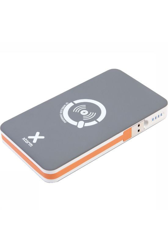 Xtorm QI Wireless Powerbank Wit/Donkergrijs