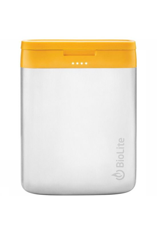 BioLite Charge 40 USB Powerbank Middengrijs/Oranje
