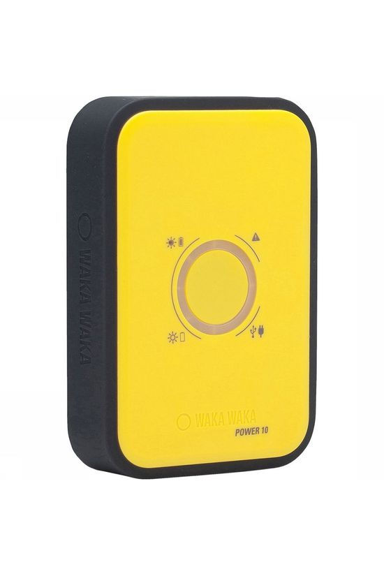 WakaWaka Power 10 Powerbank Geel