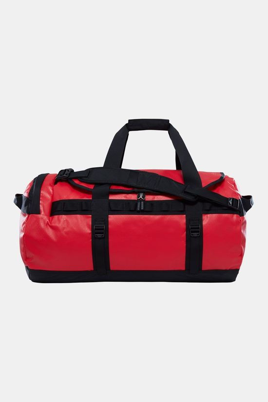 The North Face Base Camp Duffel M Rood/Zwart