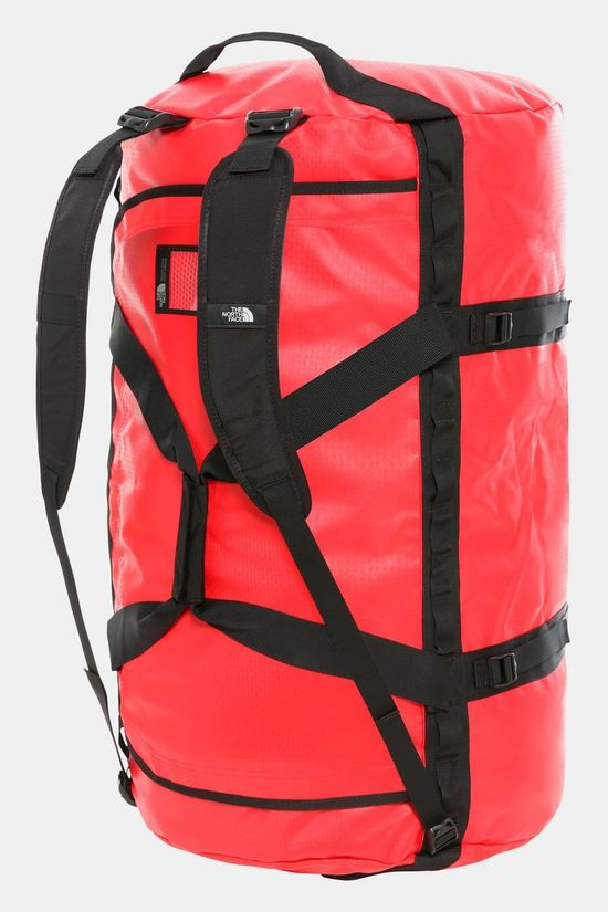 The North Face Base Camp Duffel XL Rood/Zwart