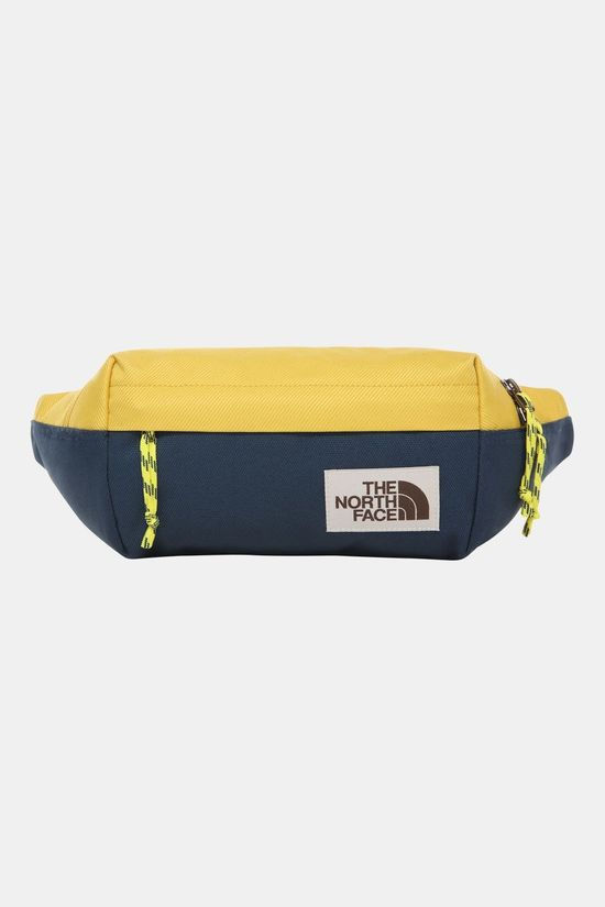 The North Face Lumbar Tas Donkergeel/Indigo Blauw