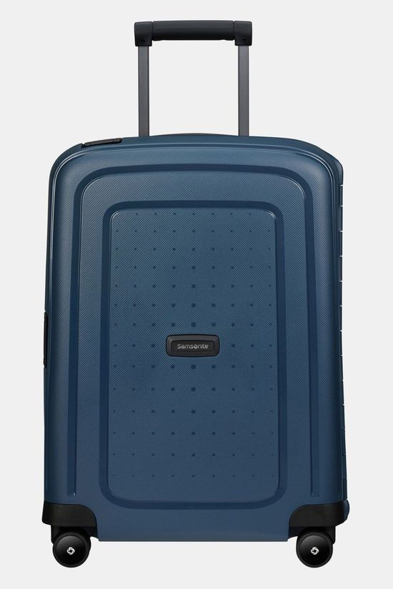 Samsonite  S'Cure Eco Spinner 55/20 Trolley Donkerblauw