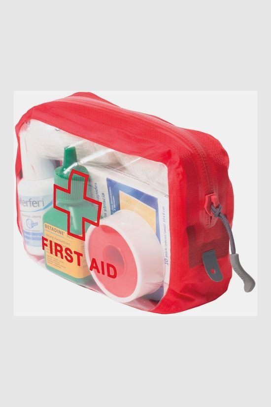 Exped Clear Cube First Aid XS Rood