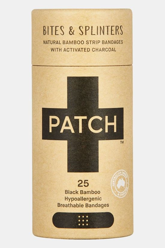 Patch Activated Charcoal Pleisters -25 Stuks Zwart