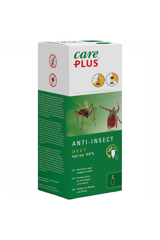 Care Plus DEET Anti-Insect spray 40% 200ml Geen kleur