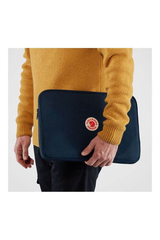 Fjällräven Kånken Laptop Case 15 Inch Laptophoes Marineblauw