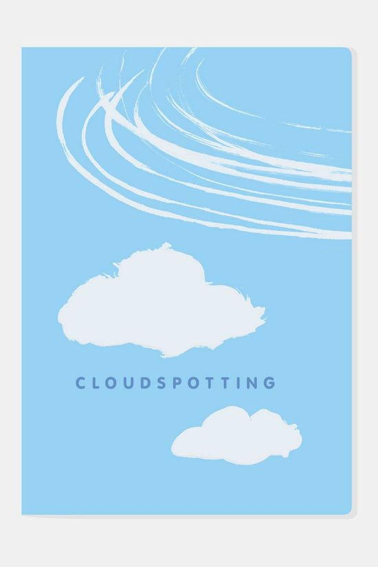 Unemployed Philosophers Guild Notebook Cloudspotting Geen Kleur
