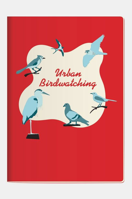 Unemployed Philosophers Guild Notebook Urban Birdwatching Pocket Geen Kleur