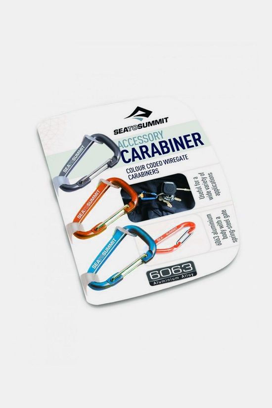 Sea To Summit Wiregate 3 ST Karabiner Geen kleur