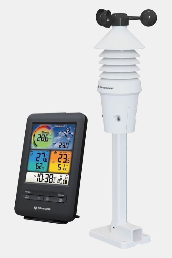 Bresser Wifi Prof. Wind Gauge 3-In-1 With Color Display Zwart