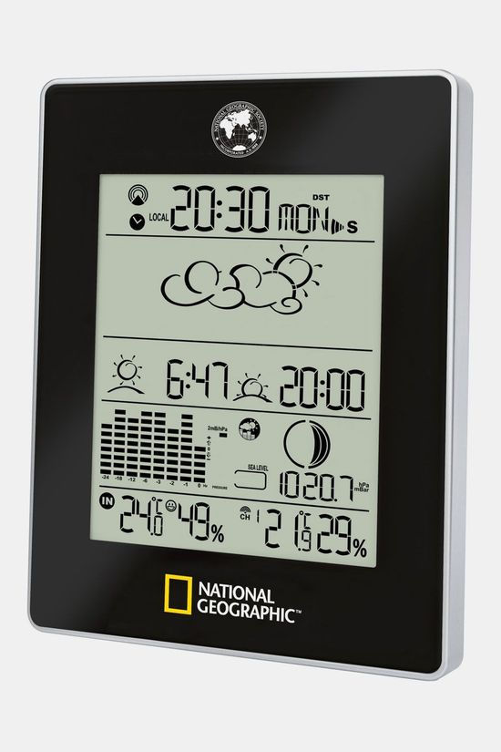 National Geographic Weather Center Zwart
