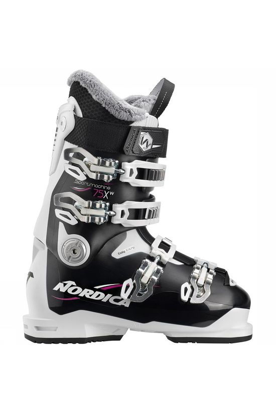 Nordica Sportmachine 75XW Dames Zwart/Wit