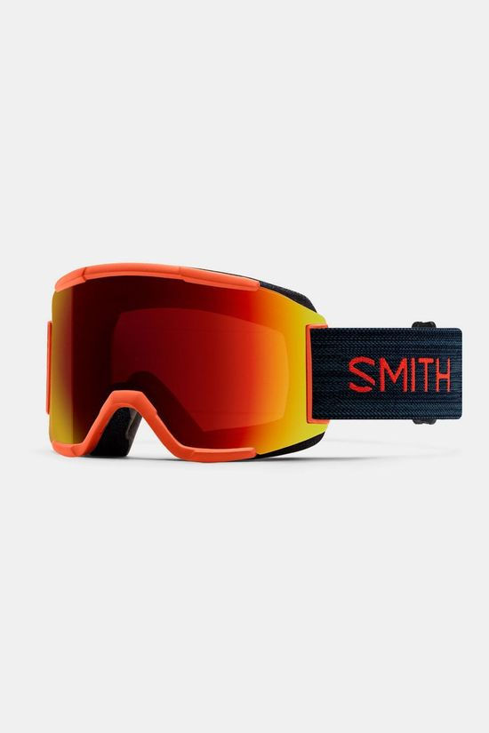 Smith Squad Red Rock Skibril  Rood/Zwart
