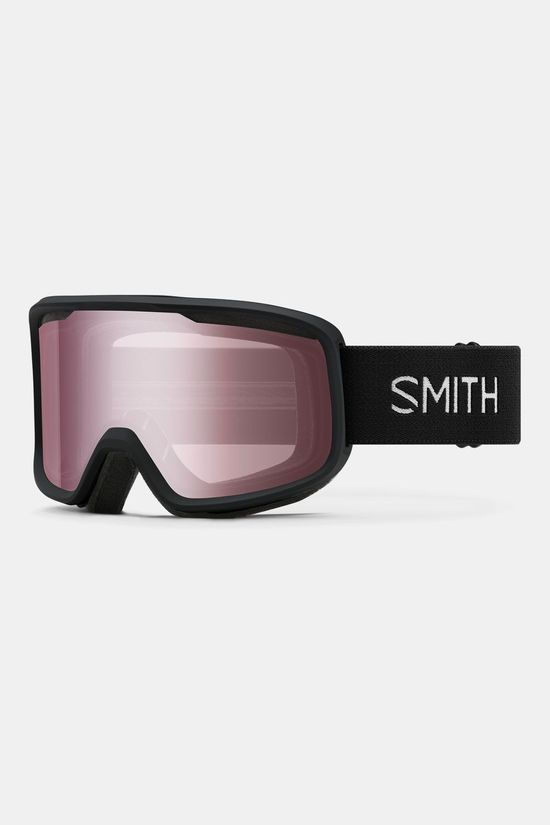 Smith Frontier Skibril Zwart/Lichtrood