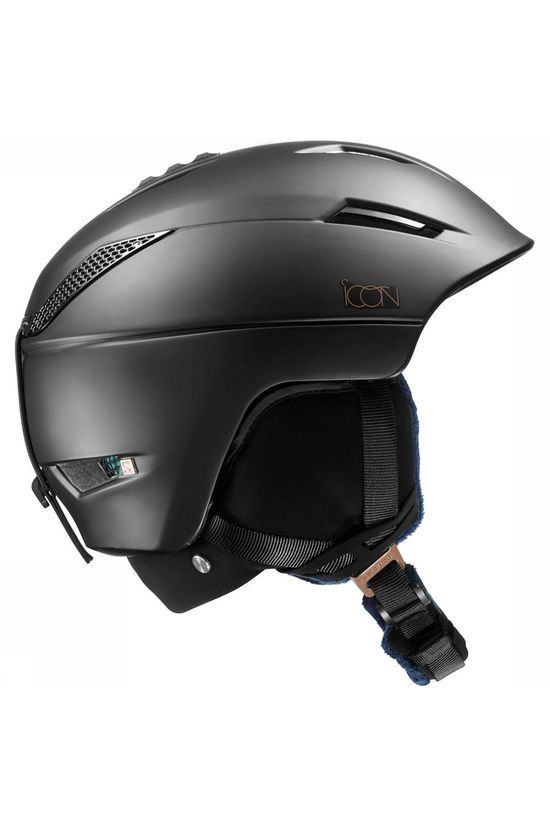 Salomon Icon 2 C. Air Helm Dames Zwart