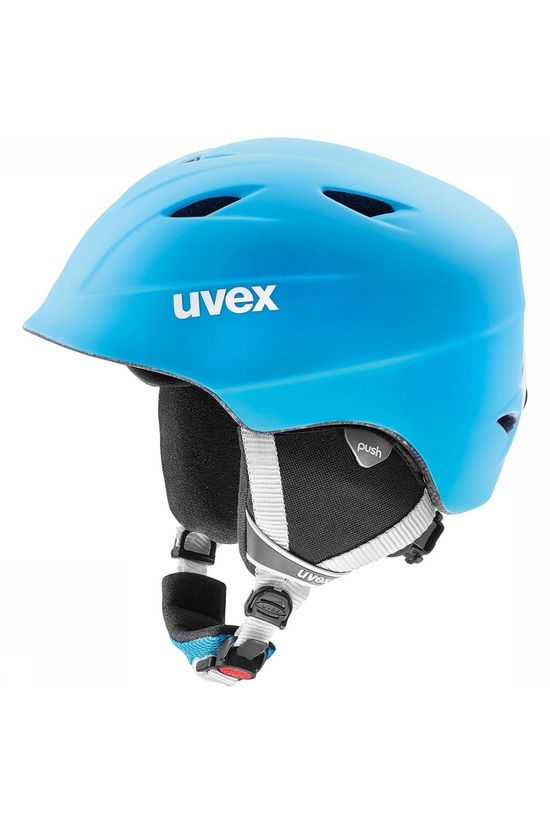 Uvex Airwing 2 Pro Junior Skihelm Middenblauw