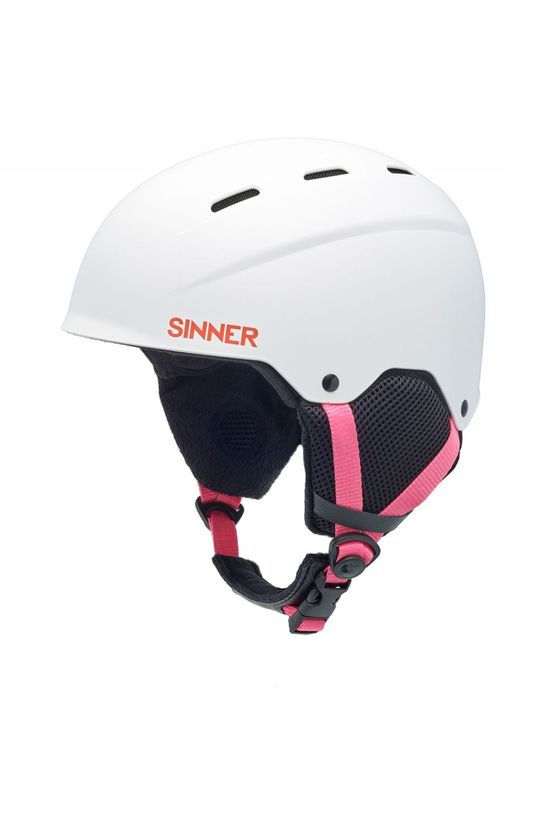Sinner Poley Helm Junior Wit