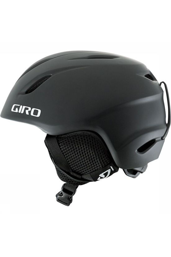 Giro Launch Skihelm Junior Zwart