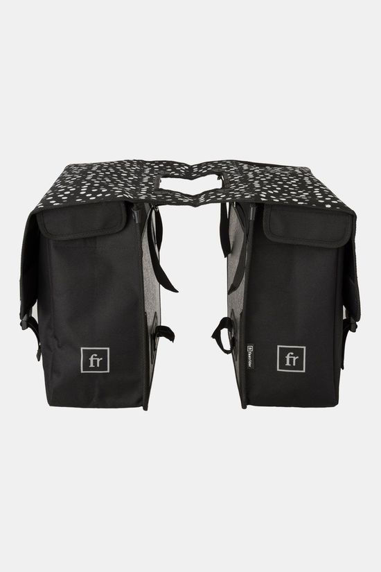 Fastrider Dot Double Bag Fietstas Zwart