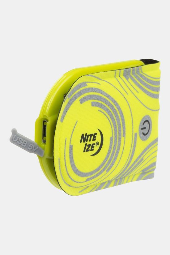 Nite Ize TagLit Rechargeable Safety Light  Geel