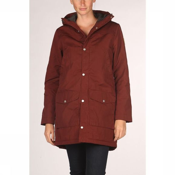 Fjällräven Greenland Winter Parka Dames Bordeaux