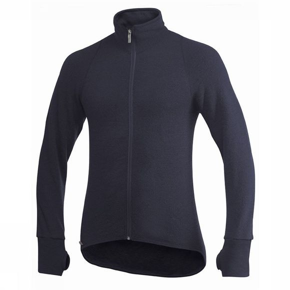 Woolpower Full Zip Jacket 400 Donkerblauw