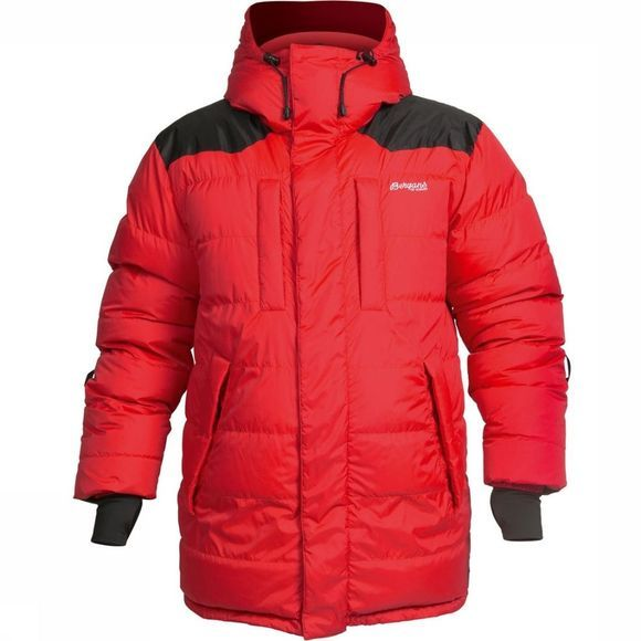 Bergans Jas Expedition Rood/Zwart