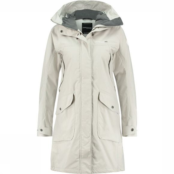 Didriksons 1913 Thelma Parka Dames Zilver
