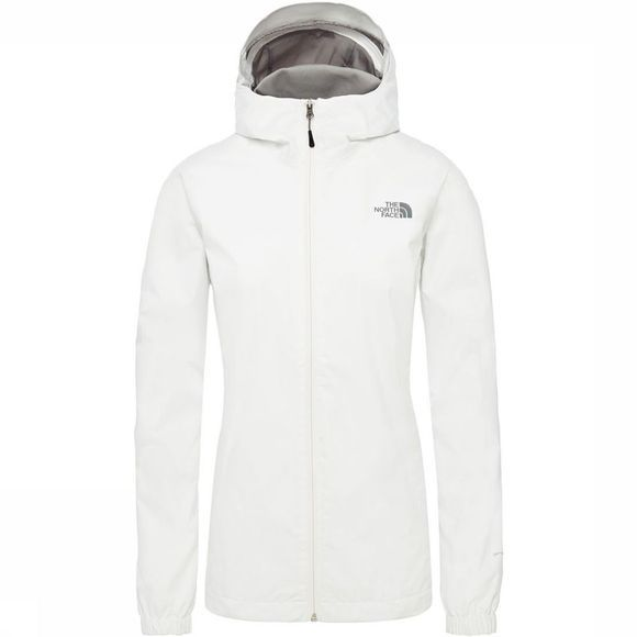 The North Face Quest Jas Dames Zwart/Middengrijs
