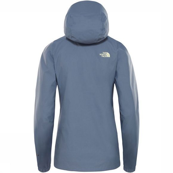 The North Face Quest Jas Dames Middengrijs/Lime