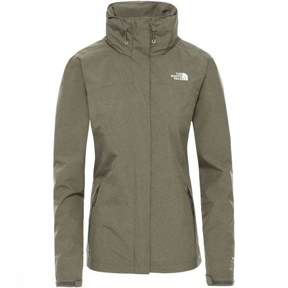 The North Face Sangro Jas Dames Donkerkaki